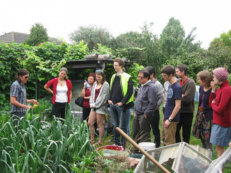 Okeover community garden canterbury community gardens for Grow landscapes christchurch